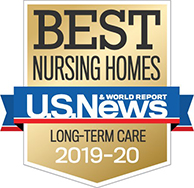U.S. News Best Nursing Home - Long-Term Care 2019 188x188